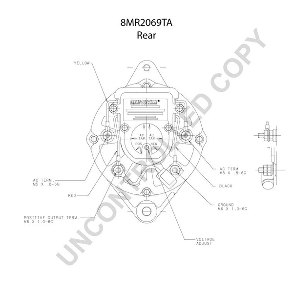 Arco 60109 Alternator Wiring Diagram