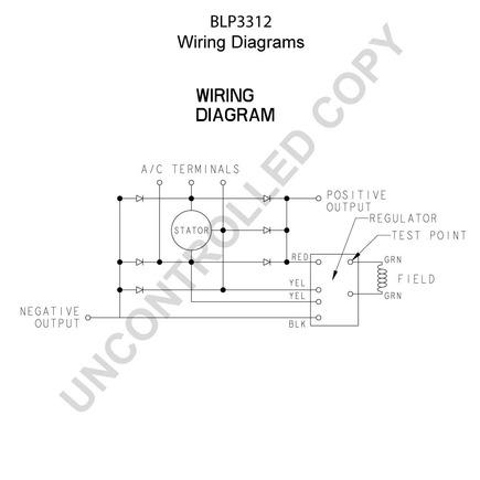 A Brushless Alternator Delco Alternator Wiring Diagram