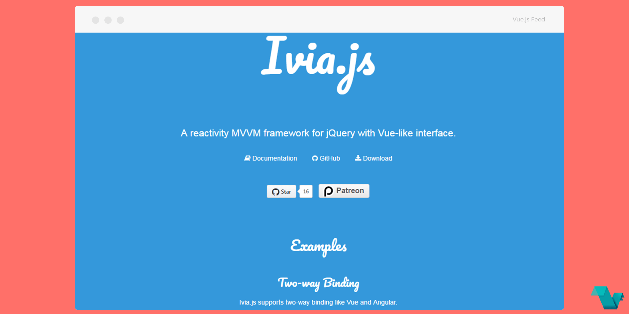 Ivia Js A Reactivity Mvvm Framework For Jquery With Vue Like Interface