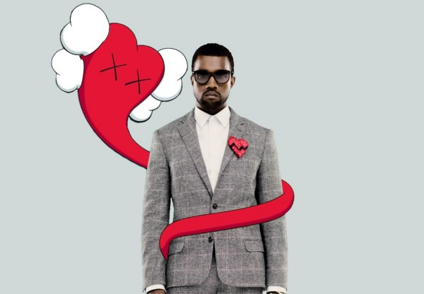Kanye West 808s and Heartbreak Album Cover