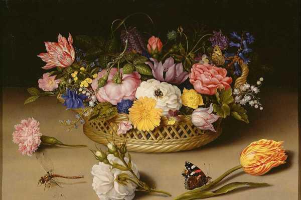 Famous Flower Paintings Widewalls