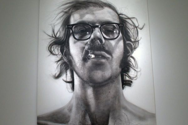 Expensive Chuck Close Portrait