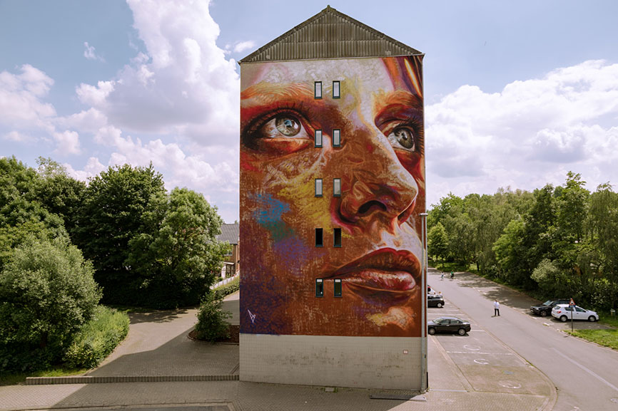 David Walker, Kaleidoscope Dendermonde, Belgium, 2018
