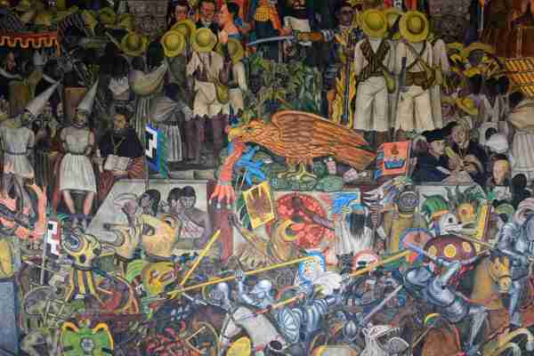 Diego Rivera Famous Mural Paintings