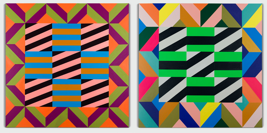Colors and Patterns Without Boundaries – Brent Hallard Interviews Claudia Damichi - The Moment Magazine - Culture Curated
