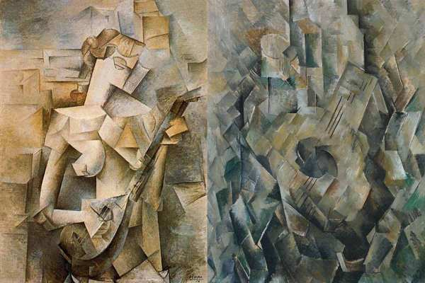 Picasso Analytical Cubism Paintings