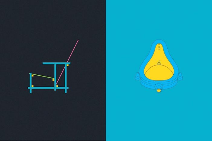 Michael Craig-Martin – Art and Design 1917, 2013