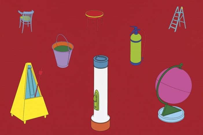 Michael Craig-Martin – Knowing, 1996