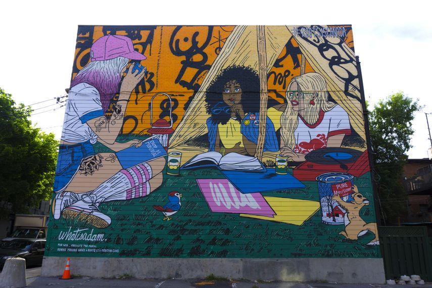 WhatIsAdam, Mural Festival 2018