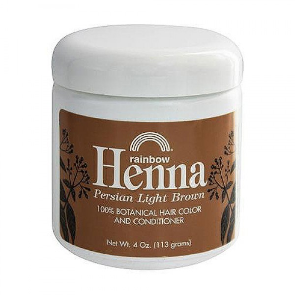 Rainbow Research Henna Hair Color And Conditioner Light Brown