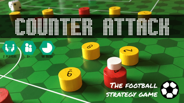 counter attack the football