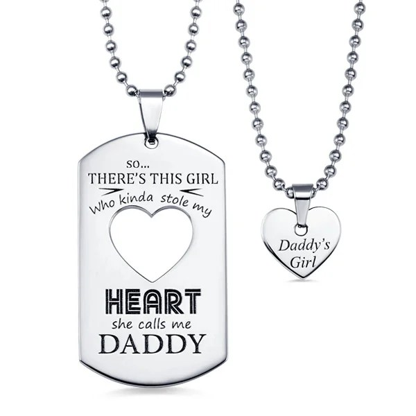 personalized couples dog tag