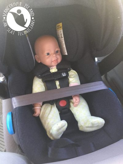 Clek Liing Vancouver Island Car Seat, Baseless Infant Car Seat
