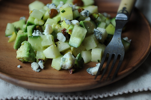 Shades of Green Chopped Salad