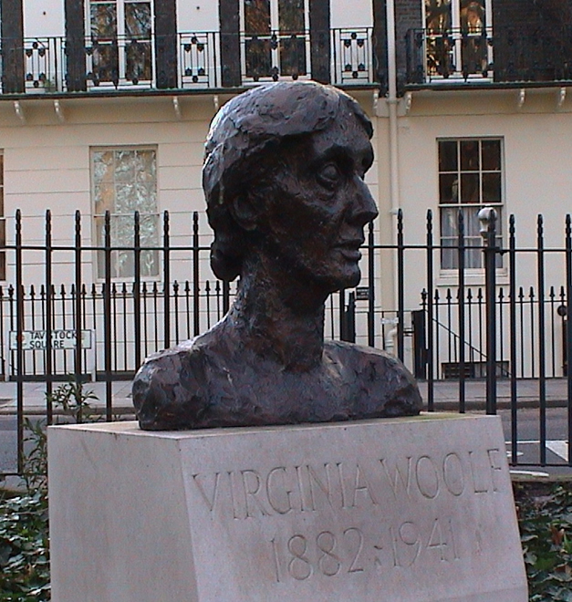 Virginia Woolf bust  London Remembers Aiming to capture