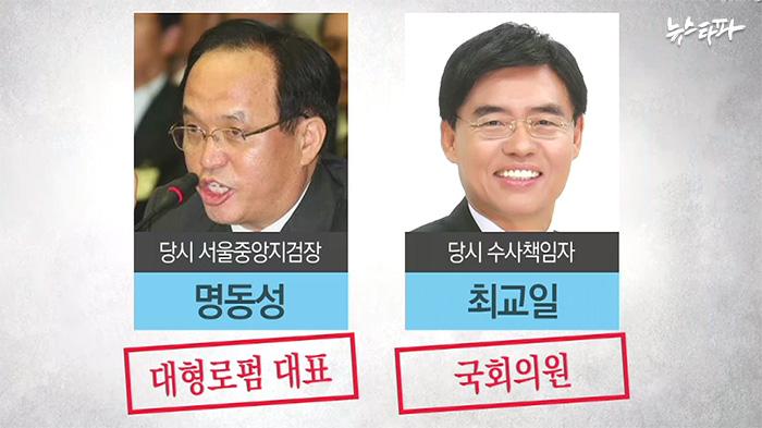 ▲ 정연주 전 KBS 사장 사건 수사검사
