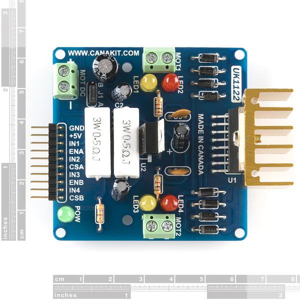 l298 h bridge circuit diagram 1996 nissan sentra stereo wiring motor driver 2a dual quick view