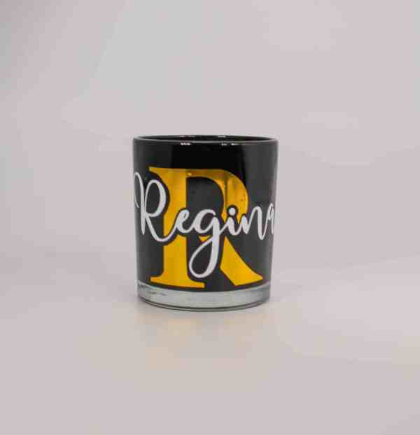 Black Personalised Candle
