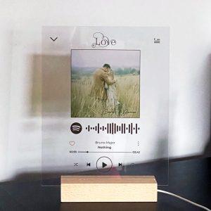 Spotify LED Plaque