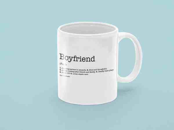 Boyfriend Dictionary Definition Mug
