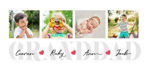Happy Father's Day - Grandad Collage Mug