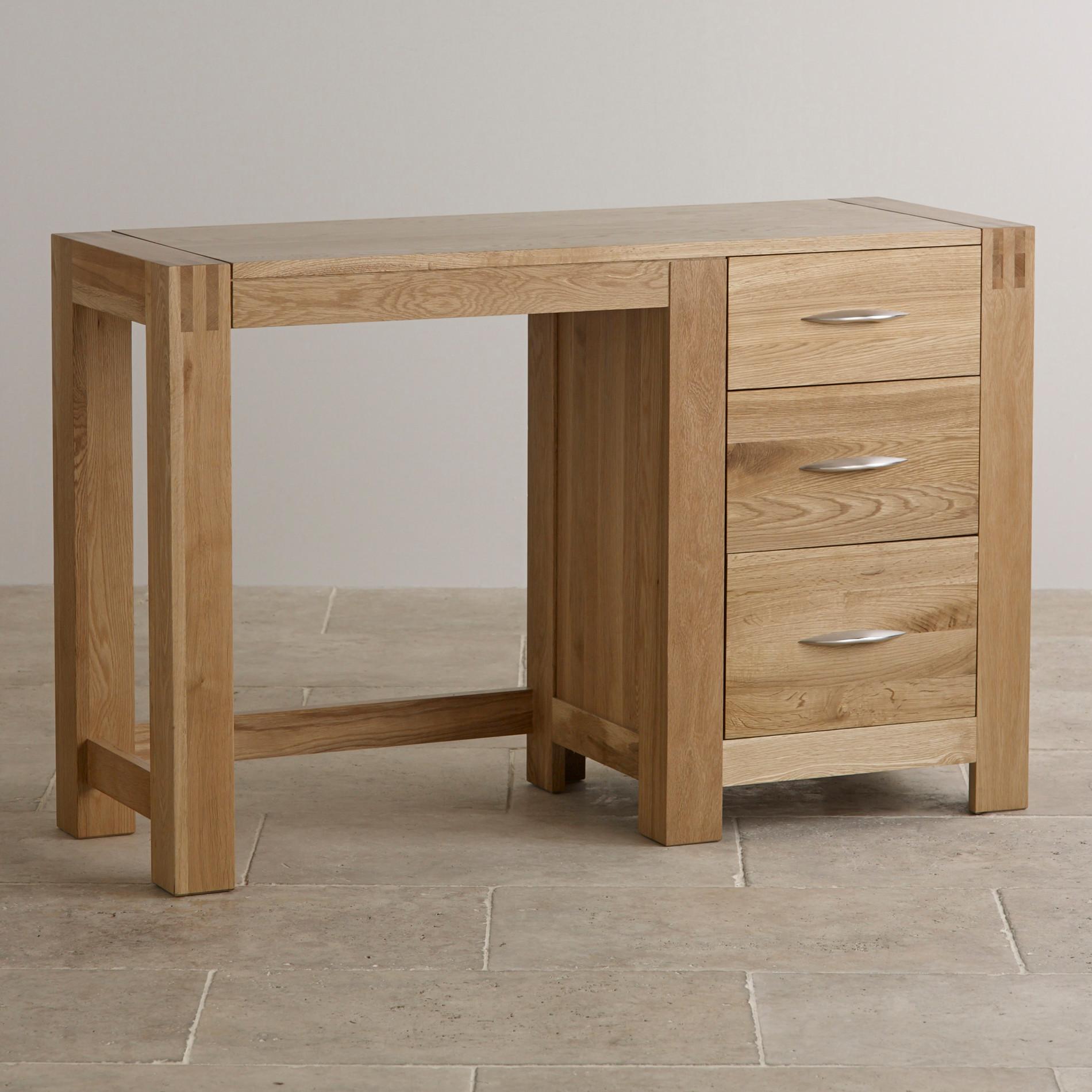 oak furniture land living room sets japanese style alto dressing table in natural solid |