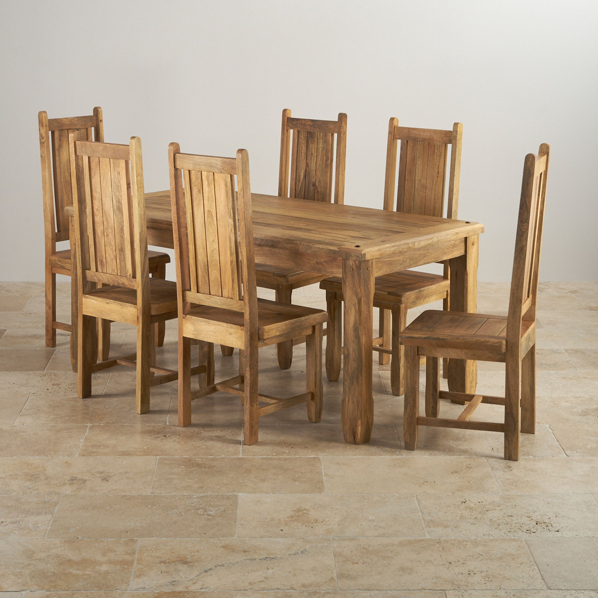 2 Chair Dining Table Baku Light Dining Table In Natural Mango 43 6 Mango Chairs