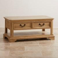 Edinburgh Coffee Table in Natural Solid Oak | Oak ...