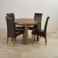 Dining Chair Sets Of 4 Evac Accessories Knightsbridge Round Extending Set Table 43