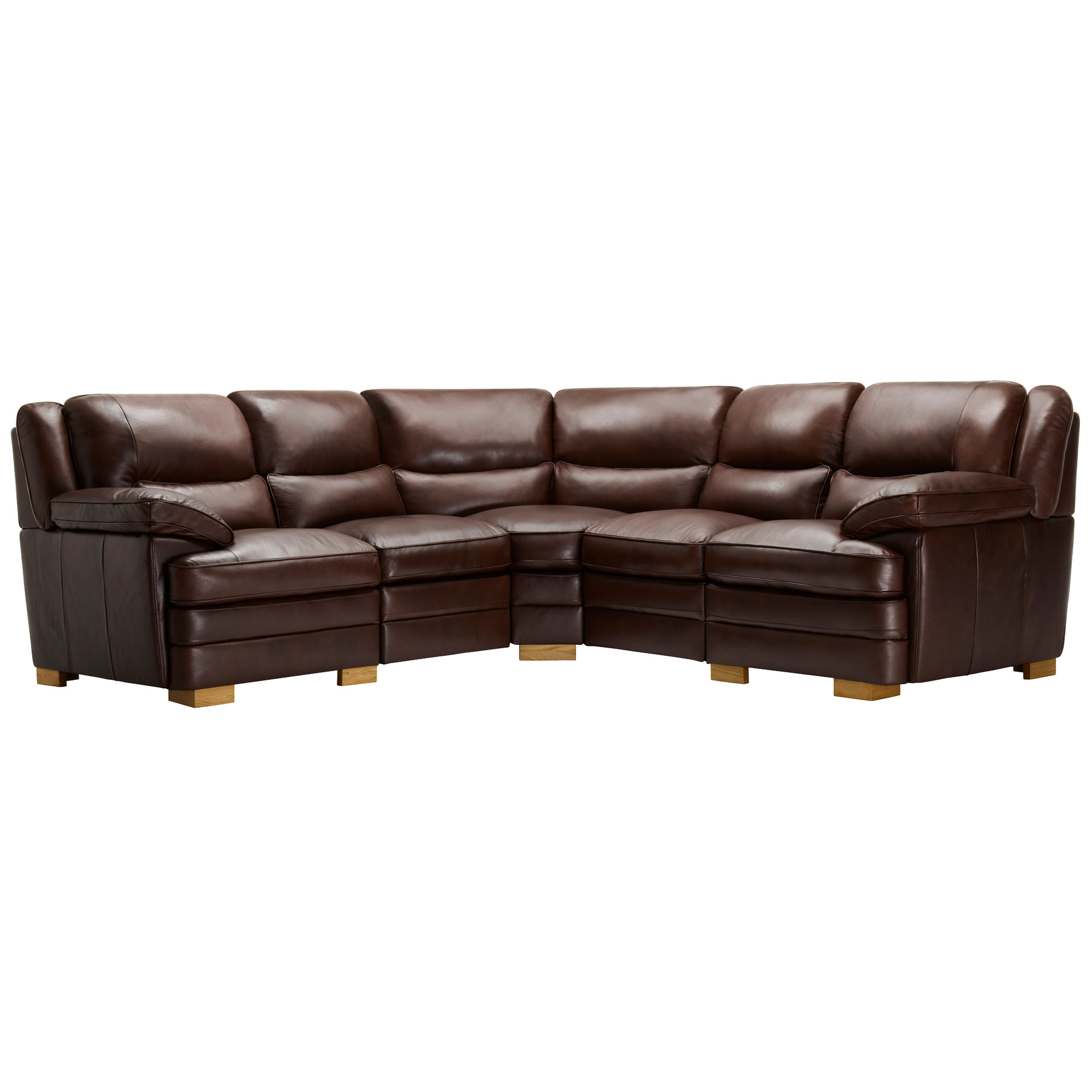 modena 2 seater reclining leather sofa mainstays fulton bed multiple colors modular group 3 in two tone brown oak furniture land