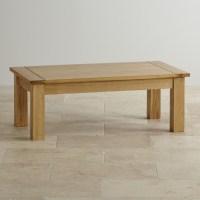 Contemporary Coffee Table in Solid Oak | Oak Furniture Land