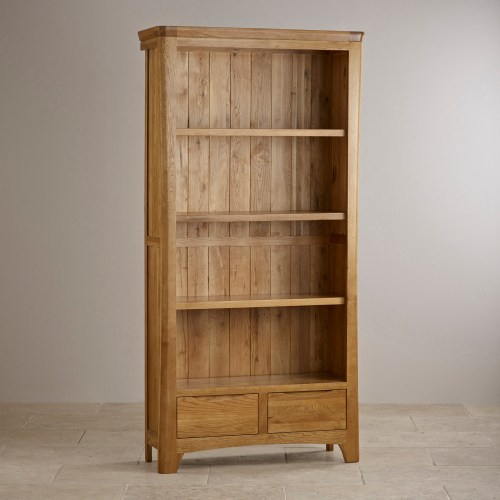 small resolution of orrick tall bookcase solid oak oak furniture land