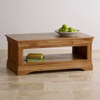 French Farmhouse Coffee Table in Solid Oak | Oak Furniture ...