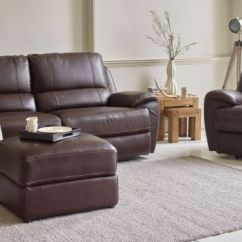 Furniture Village Leather Corner Sofa Bed Best Inexpensive Brands Real Sofas Settees Oak Land