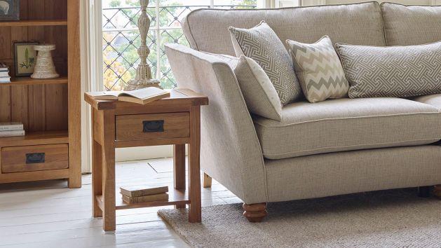 wood side tables living room color theme ideas oak solid furnitureland