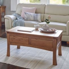 Pictures Of Coffee Tables In Living Rooms Room Ideas With Dark Brown Leather Furniture Oak Solid Wood Land