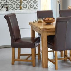 Leather Living Room Chairs Ideas With Blue And Brown Oak Dining Solid Wood Furniture Land