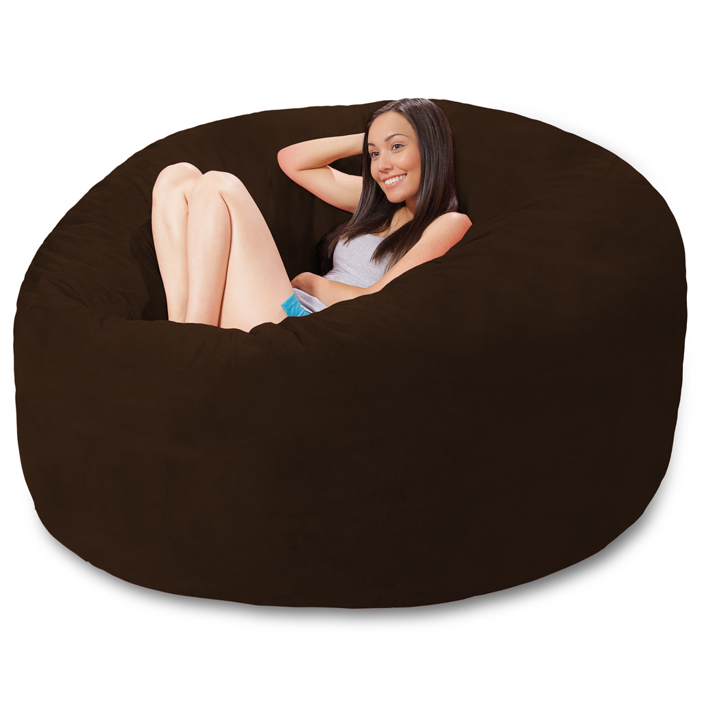 bean bag chairs chair design by architects 6 foot