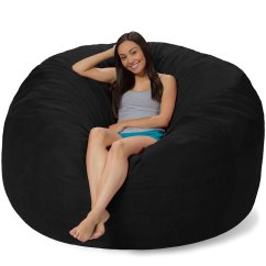 What Size Bean Bag Chair Do I Need Gray Fabric Dining Chairs 6 Foot