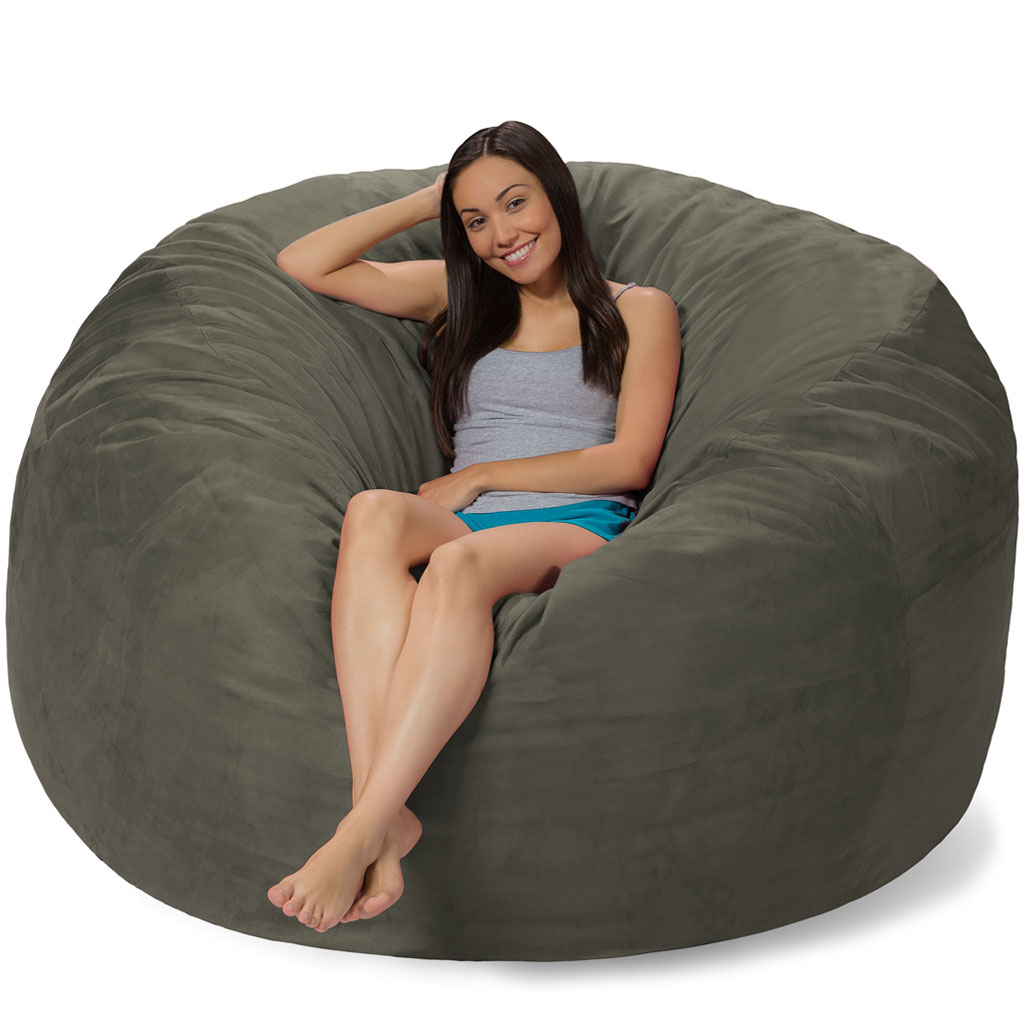 6 foot bean bag chair qoo10 ergonomic
