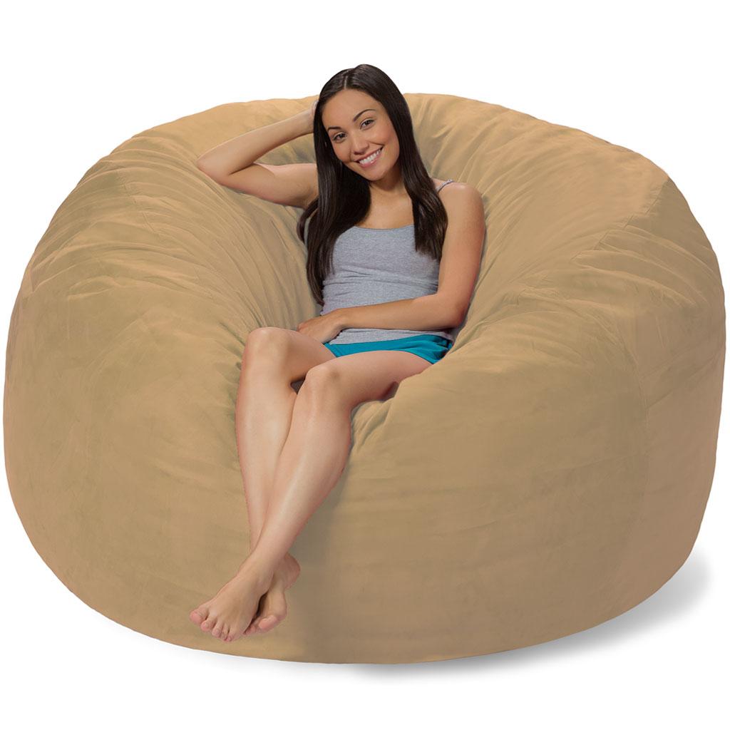 6 foot bean bag chair teak chairs dining