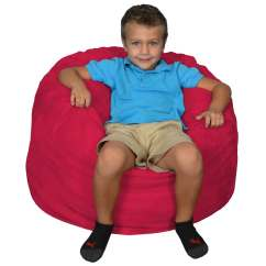 Bean Bag Chairs For Boys Fishing With Rod Holders Chair Kids Comfy Kid