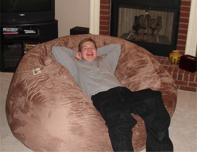 sofa sack reviews top rated reclining sofas best bean bags bag comfy cheri and kevin o day educators parents of casey