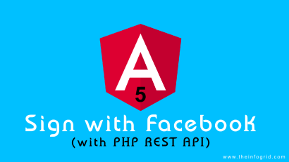 Implementing Facebook Login with Angular and REST API