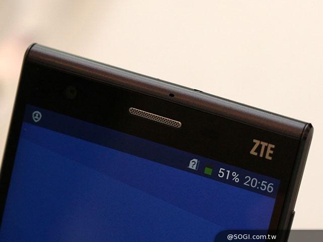 薄型5吋4G手機ZTE Star1 星星1號實機體驗- SOGI手機王