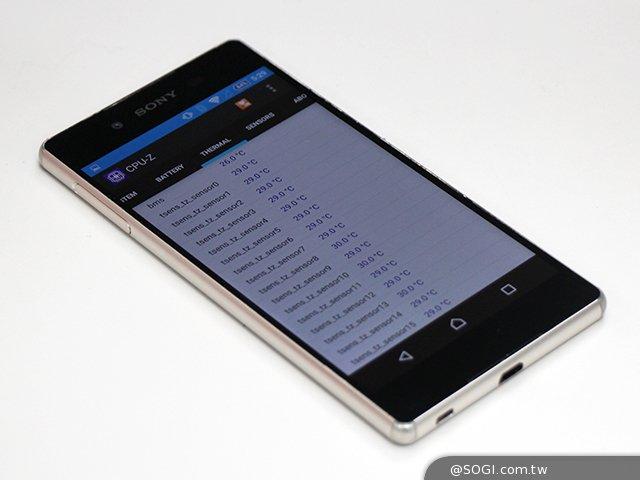 Sony Z3+韌體更新釋出 手機溫度簡單實測- SOGI手機王