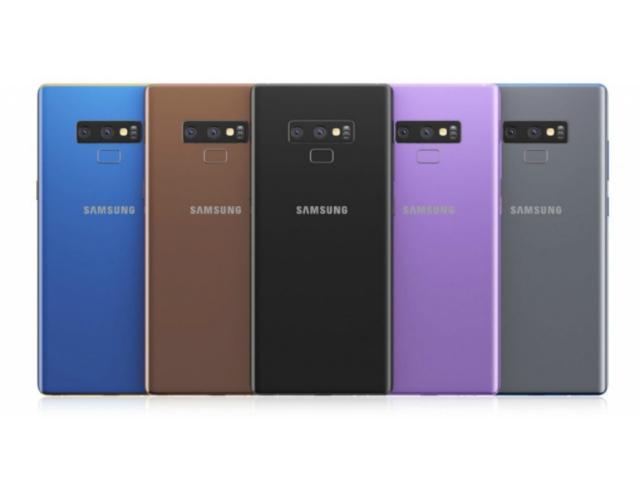 三星Note 9傳有5種顏色 RAM規格有8GB- SOGI手機王