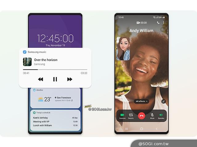 三星One UI 3上線 S20系列開放升級Android 11