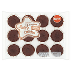 Calories In Tesco 12 Chocolate Fairy Cakes Nutrition Information
