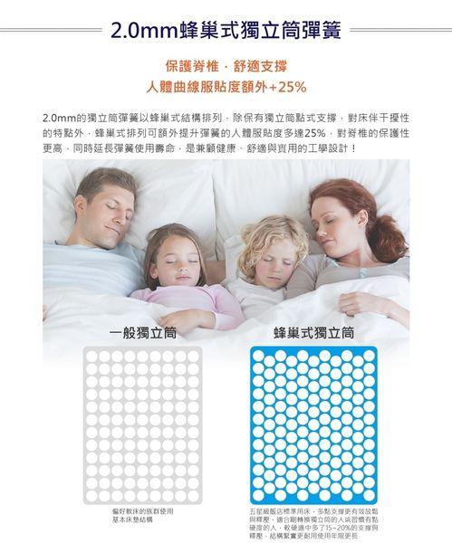 【床墊】三燕雙人床墊 - 蜂巢式獨立筒彈簧床。50天試睡保證! | 部落客行銷 | 愛體驗